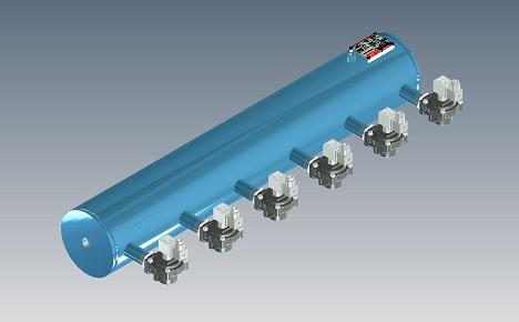 Pentair Header Tank Dust Colllector Pulse Valve